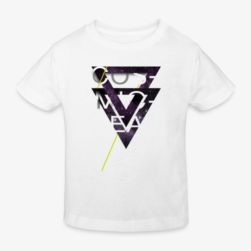 Cosmicleaf Triangles - Kids' Organic T-Shirt