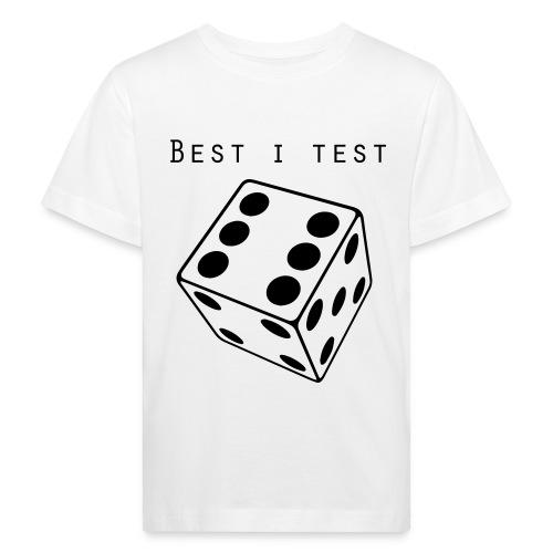 Best i test - Økologisk T-skjorte for barn