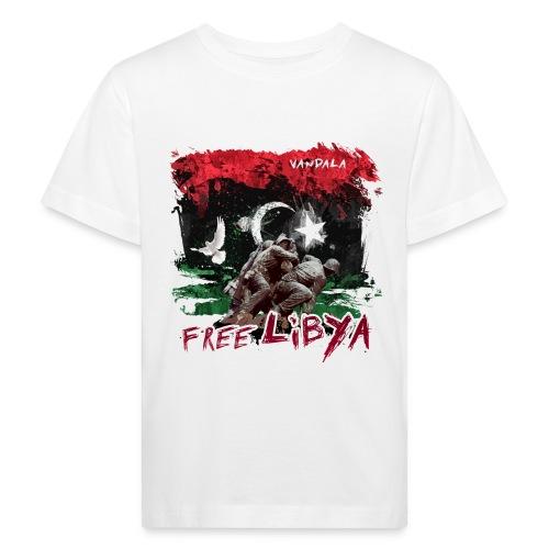 Free Libya - Kinder Bio-T-Shirt