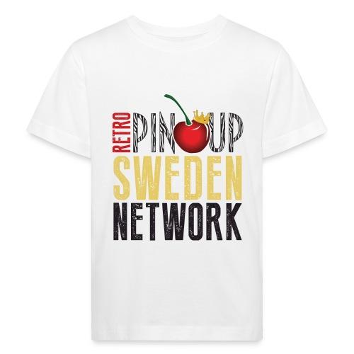 Tanktop Retro Pinup Sweden Crew utsvängd - Ekologisk T-shirt barn