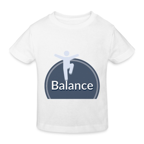 Balance blue - Kids' Organic T-Shirt