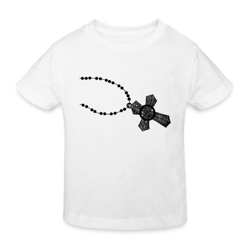 kruis 2 png - Kinderen Bio-T-shirt