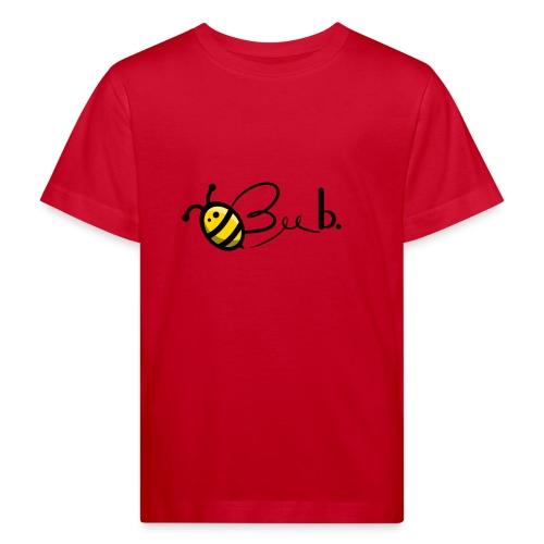 Bee b. Logo - Kids' Organic T-Shirt