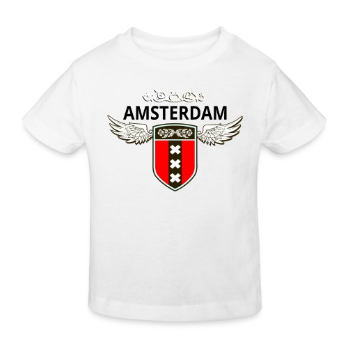 Amsterdam Netherlands - Kinder Bio-T-Shirt