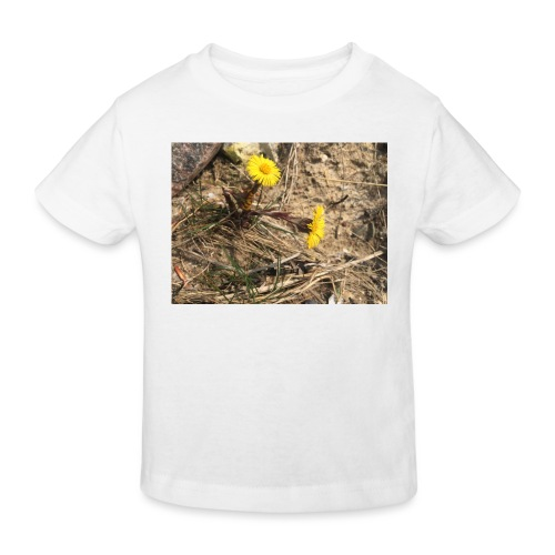 The Flower Shirt - Følfod - Organic børne shirt