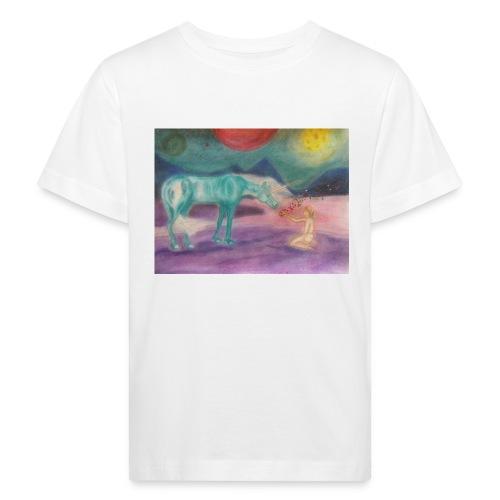 Einhornzauber - Kinder Bio-T-Shirt