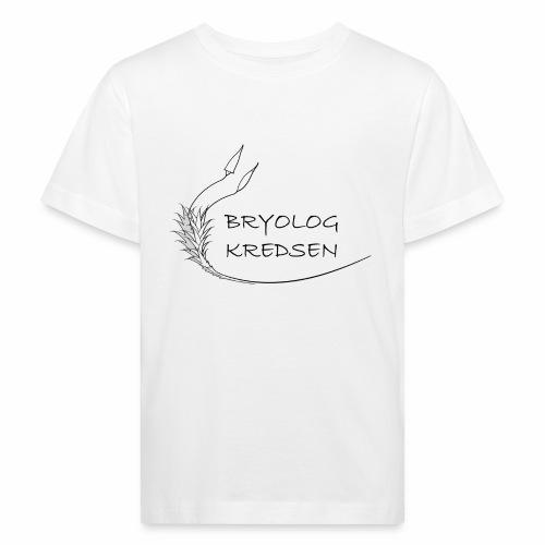 Bryologkredsen - sort logo - Organic børne shirt