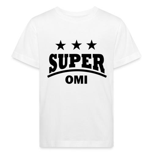 cool super omi raster - Kinderen Bio-T-shirt