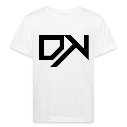 DewKee Logo Cap Black - Kids' Organic T-Shirt