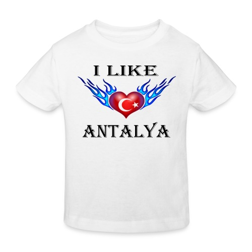 I Like Antalya - Kinder Bio-T-Shirt