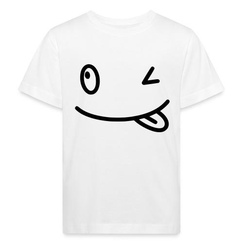 Smiley shirt - Maglietta ecologica per bambini