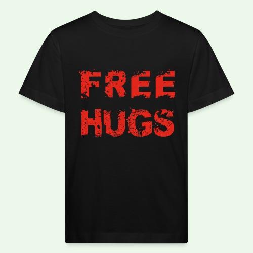 Free Hugs // Flirten // T-Shirt - Kinder Bio-T-Shirt
