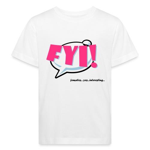 FYI.ai - Lasten luonnonmukainen t-paita