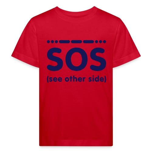 SOS - Kinderen Bio-T-shirt