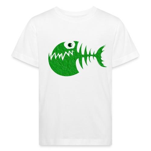 FISH BONE, Funny Sea Textiles, and Gifts for You - Lasten luonnonmukainen t-paita
