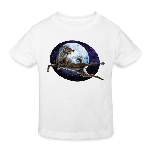 Galaxy Wolf - Kinder Bio-T-Shirt