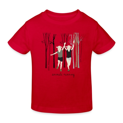 Moutons running - T-shirt bio Enfant