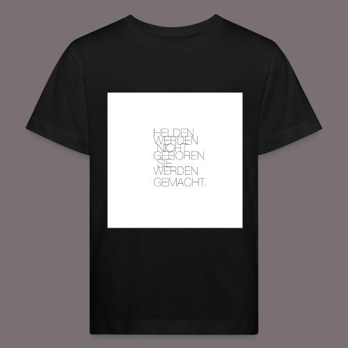 Helden - Kinder Bio-T-Shirt