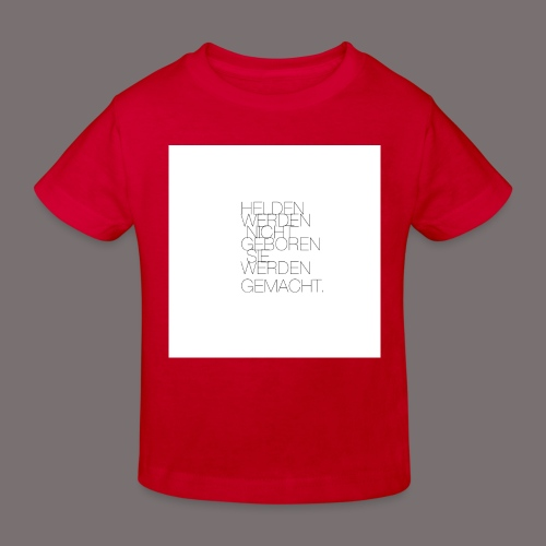 Helden - Kinder Bio-T-Shirt