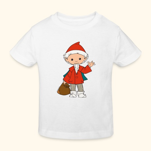 Sandmännchen winkt - Kinder Bio-T-Shirt