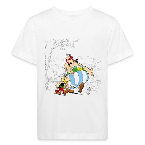 Astérix & Obélix Avec Idéfix Dans La Nature - T-shirt bio Enfant