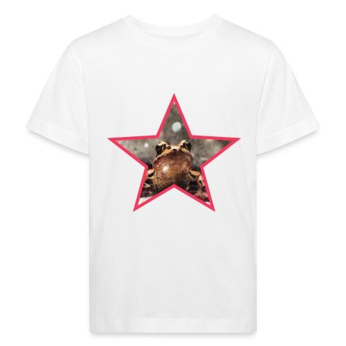 Frog Star - Ekologiczna koszulka dziecięca