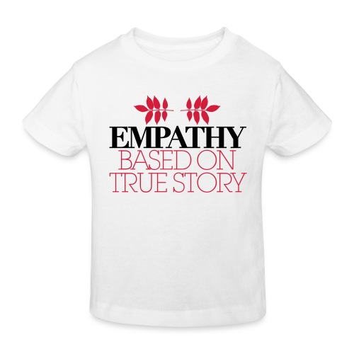 empathy story - Ekologiczna koszulka dziecięca