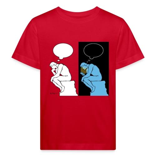 The Thinker - Kids' Organic T-Shirt