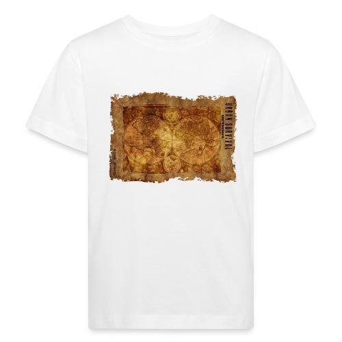 map of the world 2241469 1920 - Kinder Bio-T-Shirt