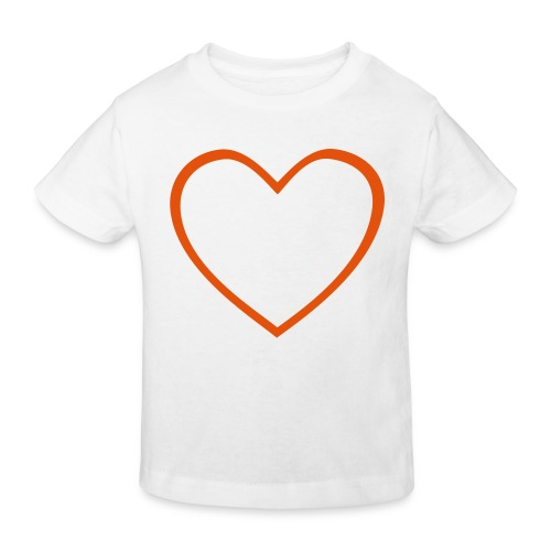 Hjärta 4 - Ekologisk T-shirt barn