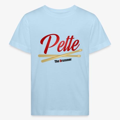 Pette the Drummer - Kids' Organic T-Shirt