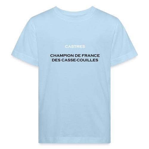 design castres - T-shirt bio Enfant
