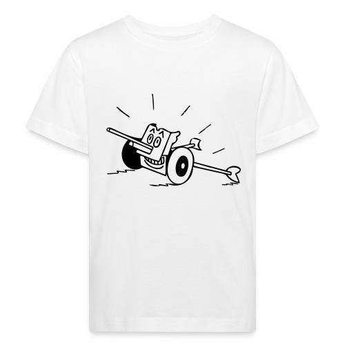 Panzerabwehrkanone - Kinder Bio-T-Shirt