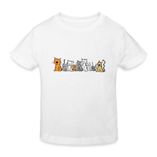 Cats & Cats - Kinderen Bio-T-shirt