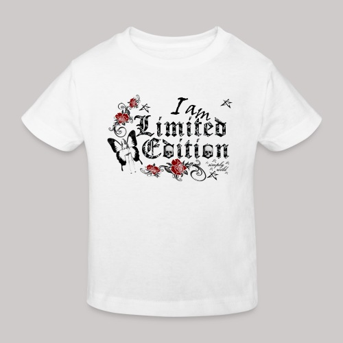 simply wild limited Edition on white - Kinder Bio-T-Shirt