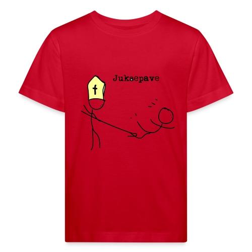 juksepave png - Økologisk T-skjorte for barn