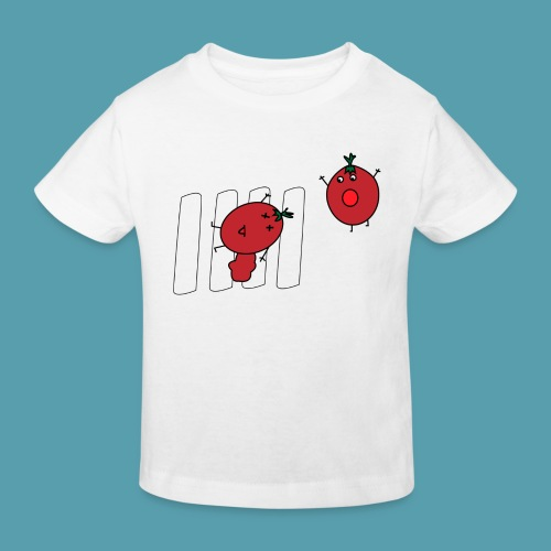 tomaatit - Lasten luonnonmukainen t-paita
