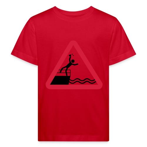 Bitte kein Bier Verschütten! - Kinder Bio-T-Shirt