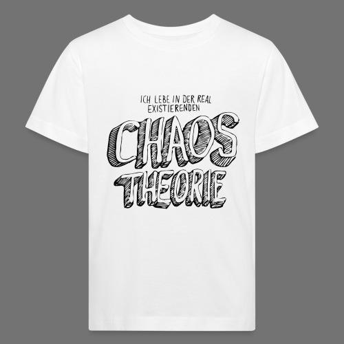 Chaos Theory (musta) - Lasten luonnonmukainen t-paita