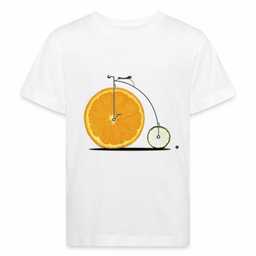 Fruit Bicycle - Kids' Organic T-Shirt