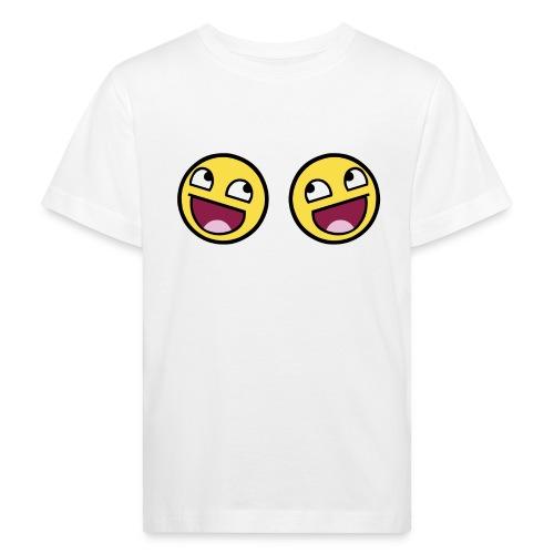 Boxers lolface 300 fixed gif - Kids' Organic T-Shirt