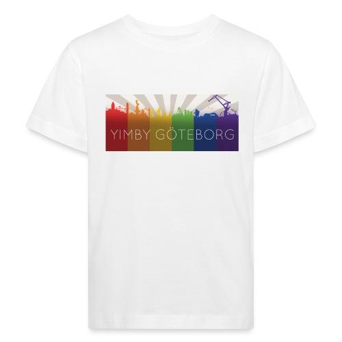 Yimby regnbågs-Tshirt - Ekologisk T-shirt barn