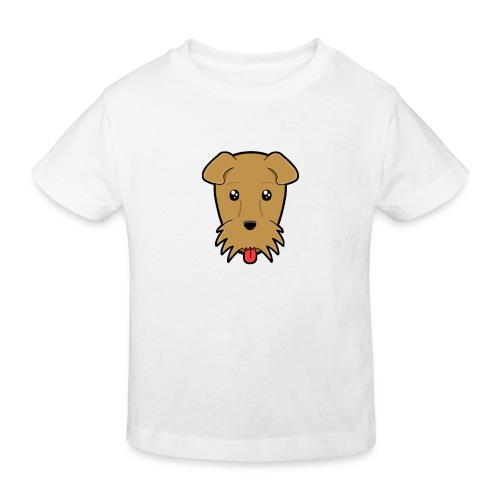 Shari the Airedale Terrier - Kids' Organic T-Shirt