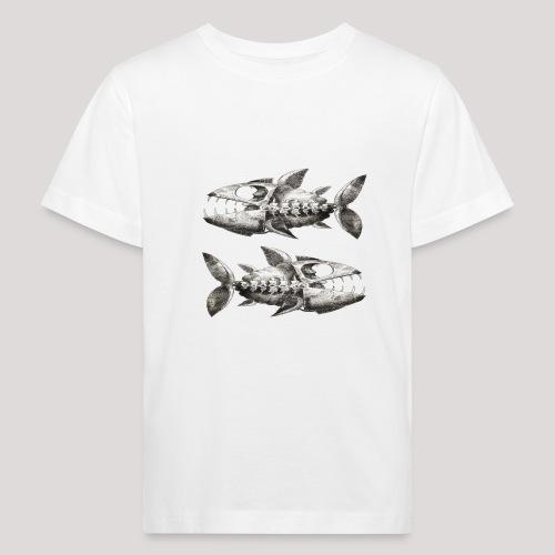 FishEtching - Kids' Organic T-Shirt