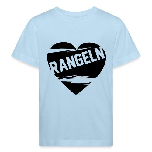 Rangeln ist Liebe - Kinder Bio-T-Shirt