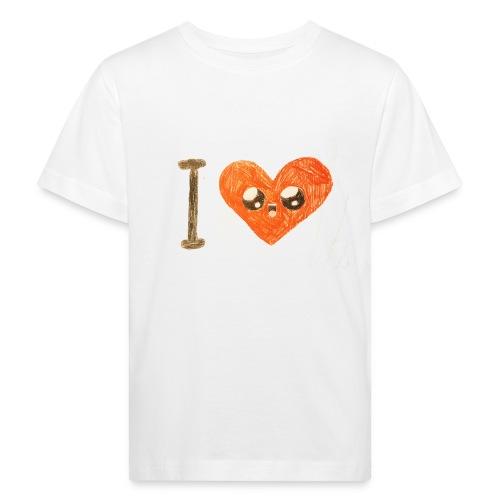 Kids for Kids: heart - Kinder Bio-T-Shirt
