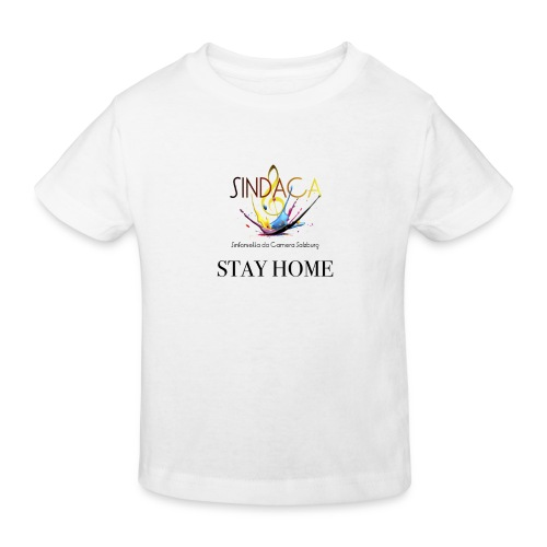 stay home03 - Kinder Bio-T-Shirt
