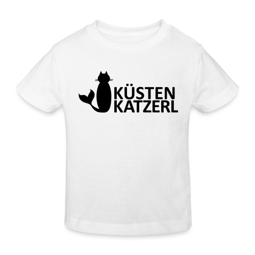 Küstenkatzerl - Kinder Bio-T-Shirt