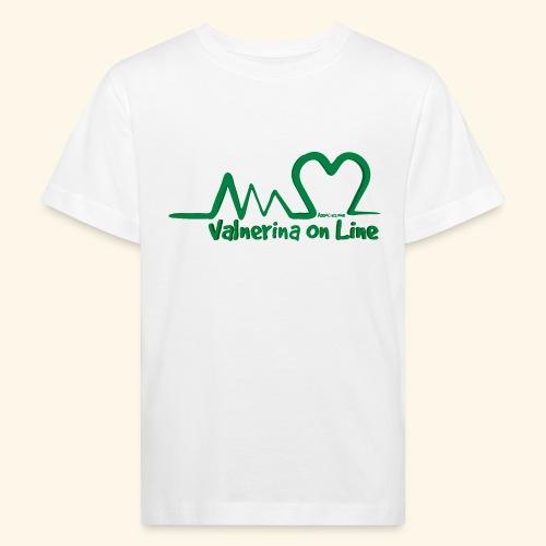 logo verde Associazione Valnerina On line - Maglietta ecologica per bambini