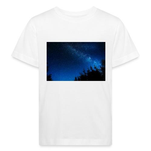 sterrenhemel afdruk/print - Kinderen Bio-T-shirt